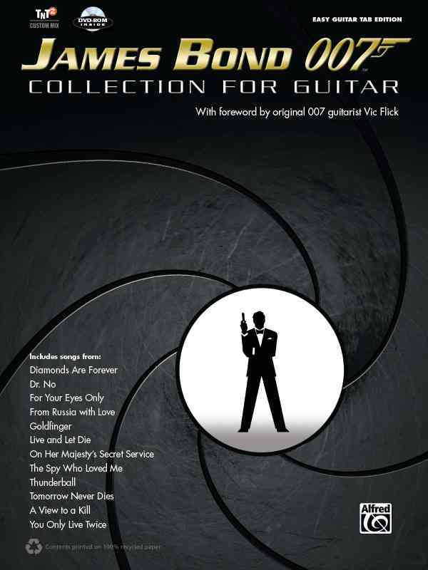 James Bond 007 Collection for Guitar By Alfred Publishing (COR)